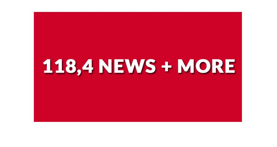 118,4 news + more