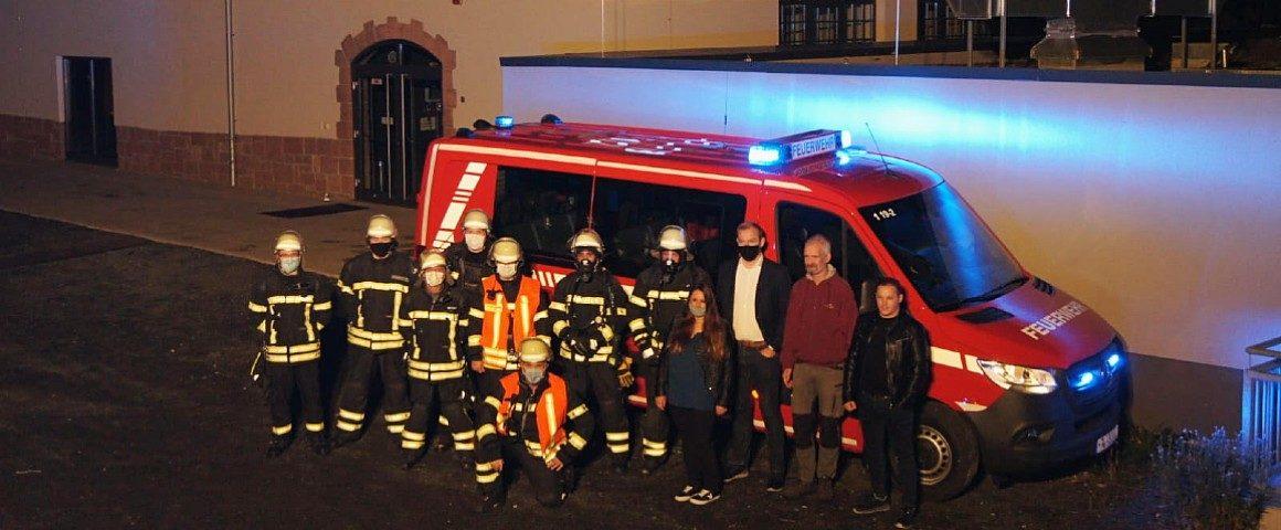 Feuerwehrübung am Musiktheater REX